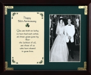 Happy 50th Anniversary - 8x10 Photo Blessing
