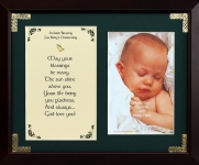 An Irish Blessing For Baby's Christening - 8x10 Photo Verse