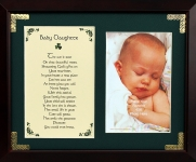 Baby Daughter - 8x10 Photo Blessing