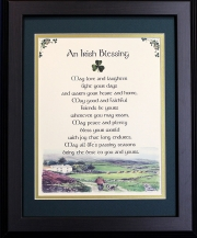 Irish Blessing - May Love and Laughter - 16x20
