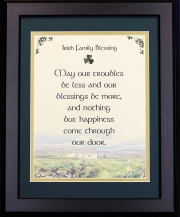 Irish Family Blessing - 16x20