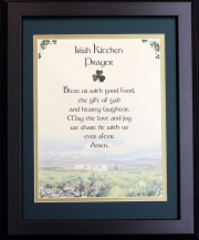 Irish Kitchen Prayer - 16x20 Blessing