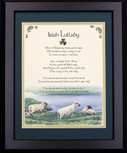 Irish Lullaby - 16x20 Blessing