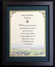 Irish Wedding Blessing - May Joy And - 16x20