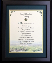 Irish Wedding Blessing - May The Road Rise ... 16x20