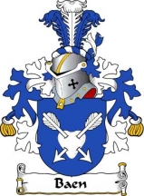 Dutch/B/Baen-Crest-Coat-of-Arms