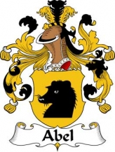 German/A/Abel-Crest-Coat-of-Arms