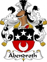 German/A/Abendroth-Crest-Coat-of-Arms