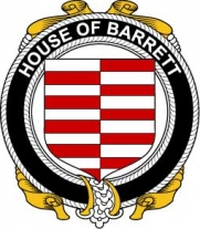 House-of-Ireland/B/Barrett-Crest-Coat-Of-Arms