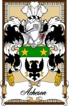Scottish-Bookplates/A/Acheson-Crest-Coat-of-Arms