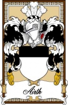 Scottish-Bookplates/A/Airth-Crest-Coat-of-Arms