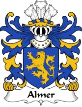 Welsh/A/Almer-(of-Pant-locyn-Denbighshire)-Crest-Coat-of-Arms