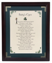 Baby's Eyes - 8x10 Blessing