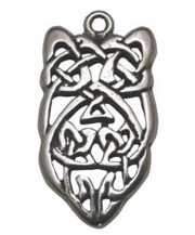 Blarney Stone Celtic Pewter Necklace