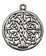 Brigid Knot Celtic Pewter Necklace