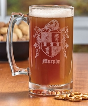 Coat of Arms Beer Stein - 27 oz