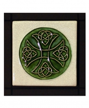 Celtic Cross Square Tile
