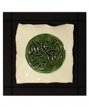 Celtic Lover's Knot Parchment Wall Tile