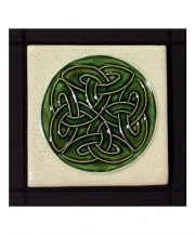 Celtic Love's Knot Square Tile