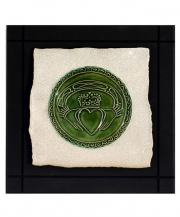 Claddagh Parchment Wall Tile