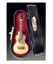 Classic Spanish Guitar With  Flower Pick Guard Pin With Case