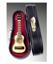 Classic Steel String Guitar Pin With Case
