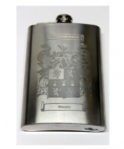 Coat of Arms 8oz Flask
