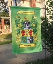 Coat of Arms Garden Flag