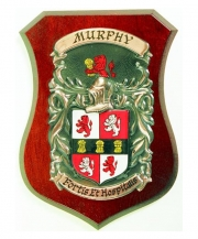 Coat of Arms Plaque Small