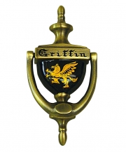 Coat of Arms Doorknocker - Aged