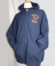 Dublin Fire Brigade Zip Hooded Sweatshirt
