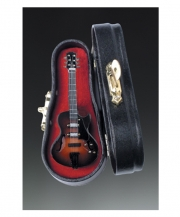 Electric Guitar Pin With Case