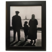 Ellis Island Immigration Framed Print
