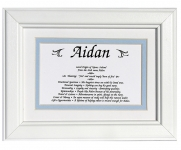 First Name Meaning Framed (Boy)