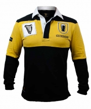 Guinness Mustard & Black Rugby Jersey