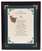 Christening - Dearest Father in Heaven - 8x10 Blessing
