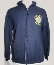 Garda Full Zipper Hooded Sweatshirt