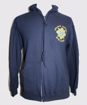 Garda Youth Zipper Hooded Sweatshirt