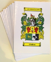 Greeting Cards Coat of Arms (Set of 12)