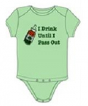 I Drink Until I Pass Out Onesie
