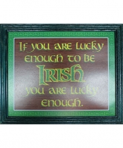 If You're Lucky Enough to be Irish Pub Print