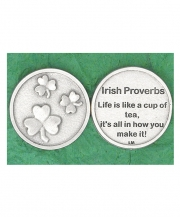Irish Proverb Coin