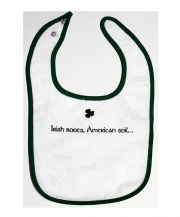 Irish Roots, American Soil Bib