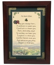 An Irish Wish - 5x7 Blessing