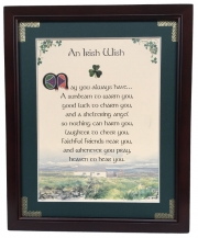 An Irish Wish - 8x10 Blessing