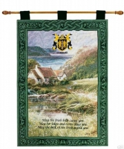 Irish Verse Tapestry Wall Hanging