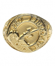 Ladies Crest Hollow Scottish Ring