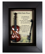 My Wild Irish Rose Shadow Box