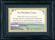 Old Irish Curse - 5x7 Blessing - Green Landscape
