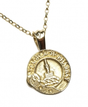 Scottish Crest Pendant - Heavy chain
